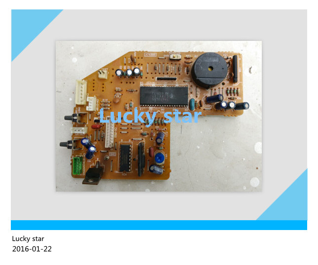 95% new for panasonic Air conditioning computer board circuit board A74333 good working wire universal board computer board six lines 0040400256 0040400257 used disassemble