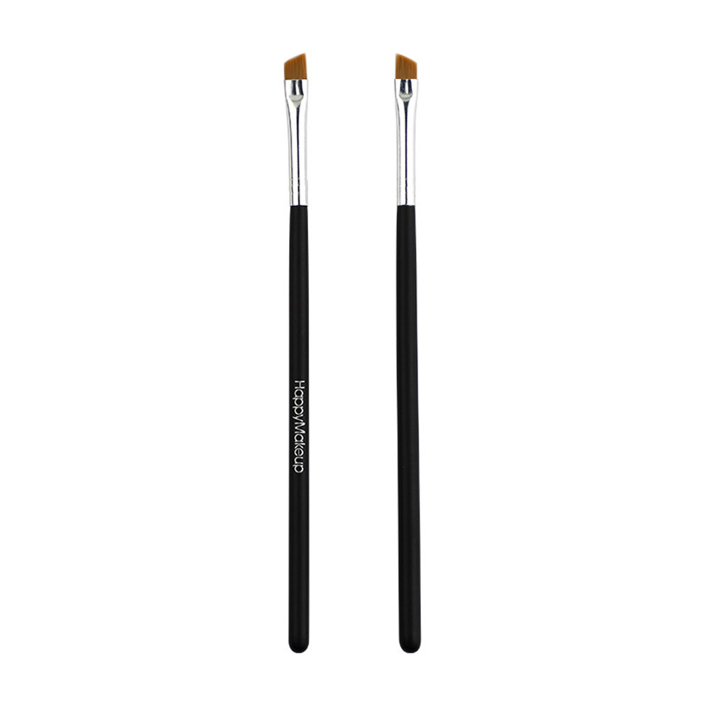 2Pcs Makeup Brush Cosmetic Brushes Foundation Beauty  Eyebrow makeup tool