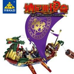 KAZI Modelle Gebäude spielzeug Kompatibel mit K87018 1299 stücke Chroniken Narnia Blöcke Spielzeug Hobbies Für Jungen Mädchen Gebäude Kits