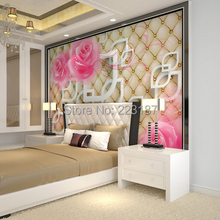 339art Large murals3D can be custom-made furniture decorative wallpaper high-end fashion wall stickers home decor Chinese style
