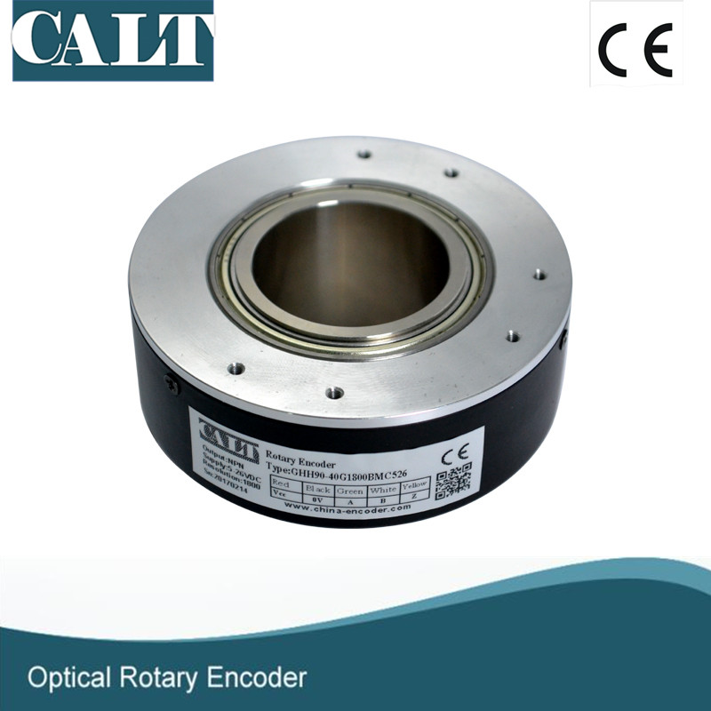 CALT Hollow shaft 40mm bore 1024 lines incremental optical encoder GHH90-40G1024 цена
