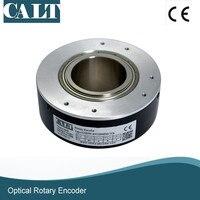 Calt 중공 축 40mm 보어 1024 라인 인크 리 멘탈 옵티컬 엔코더 GHH90-40G1024