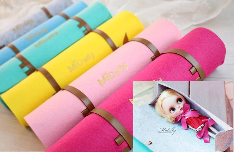 2017 new 1/6 doll bag out portable package for blyth AZ MMK 1/6 BJD JerryB Kurhn doll Kiki doll accessories doll Storage bag spark storage bag portable carrying case storage box for spark drone accessories can put remote control battery and other parts