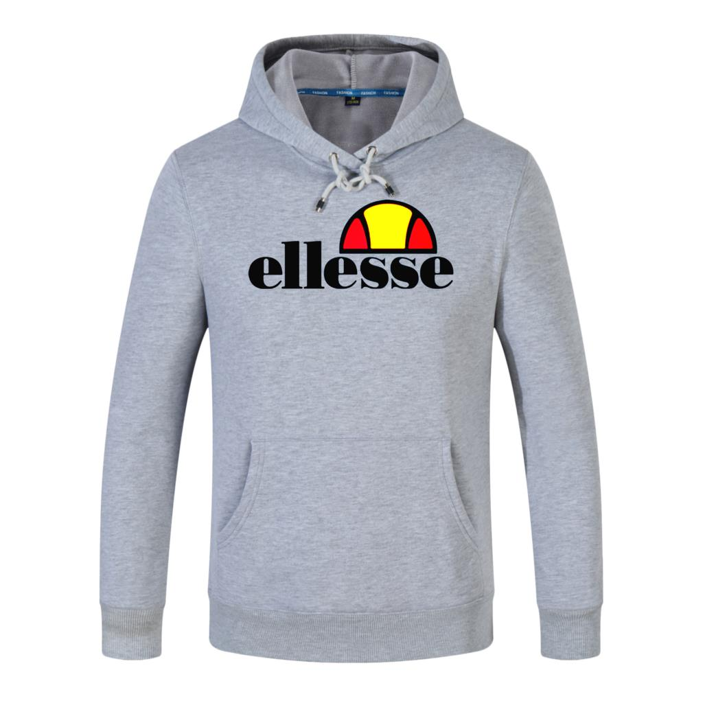 0e1aa84d Ellesse man popular logo new set T-shirt European and American fashion  men's summer cotton T-shirt