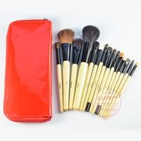 Brand 15 Pcs Makeup Brushes Set Professional Cosmetics Foundation Blending Makeup Brush Kit Set Wooden Makeup