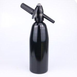 Image 5 - מדריך 1L סודה לשאוב CO2 מתקן מים בועה גנרטור קוקטייל ויין Spritzers סודה מכונת אלומיניום בר DIY יצרנית סודה