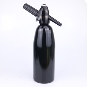 Image 5 - Manual 1L Soda Siphon CO2 Dispenser WATER Bubble Generator Cocktail And Wine Spritzers Soda Machine Aluminum Bar DIY Soda Maker