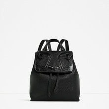 Женские Рюкзак женственный монстр из искусственной кожи дизайнерские женские рюкзаки для девочек-подростков Bagpack моды черная сумка рюкзак Mochila