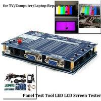 19 шт./компл. светодиодный ЖК дисплей Экран тестер инструмент инвертор LVDS + 14 кабели для ТВ/компьютер/ноутбук ремонт инструмента запчасти акс