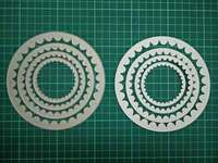 Circle Type Metal Die Cutting Scrapbooking Embossing Dies Cut Stencils Decorative Cards DIY Album Card Paper