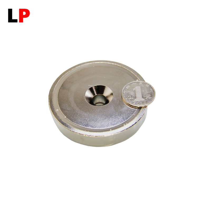 1pcs Mounting Magnet Holder Dia90mm Magnetic Pots Strong Magnet Neodymium Permanent Magnets Free shipping шорты element element el003emtia01