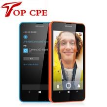 Оригинальный разблокирована Nokia Microsoft Lumia 640 quad-core 8 ГБ Встроенная память 1 ГБ Оперативная память 8MP Windows мобильного телефона LTE 4 г 5.0 «1280×720 Восстановленное