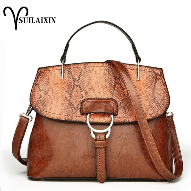 1c6c8bcd303d Women Leather Hobo Embroidery Bucket Bags Large Embossing Printing retro  Designer Floral Handbag Luxury Tote Bag High quality