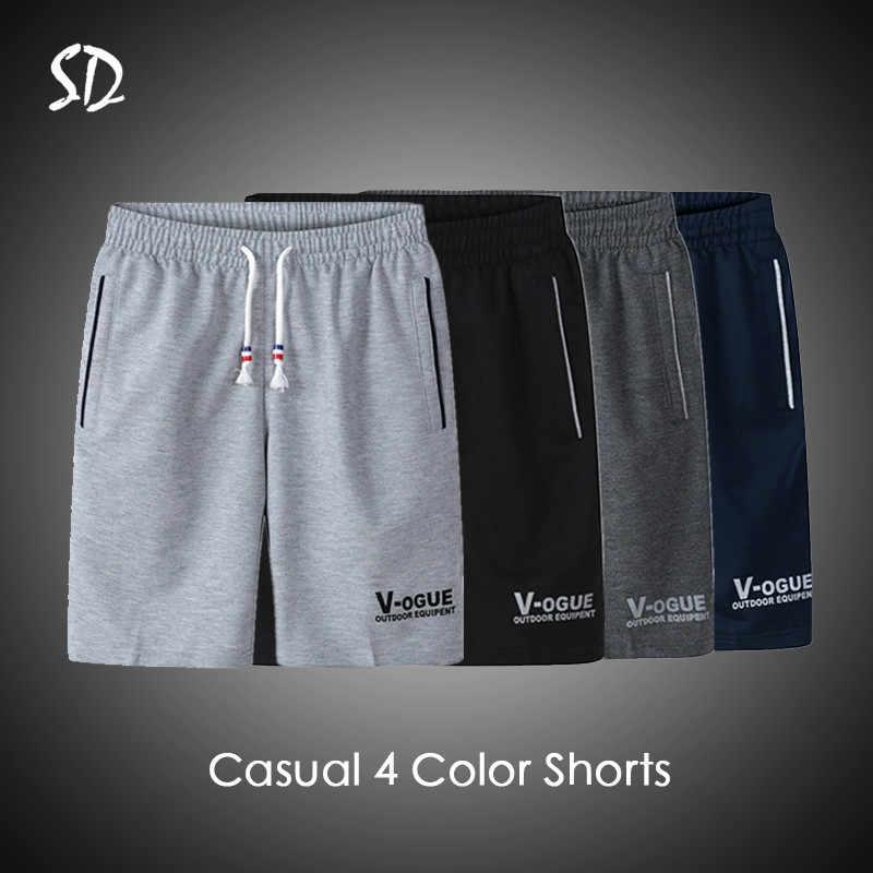 3 قطعة/الوحدة الصيف الشاطئ قصيرة الرجال أزياء العلامة التجارية الرجال السراويل عارضة الرباط السراويل الرجال تنفس M-6XL سراويل قصيرة 2019