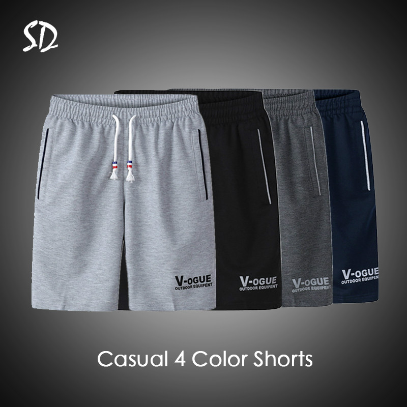 3PC/Lot Summer Beach Short Men Fashion Brand Men Shorts Casual Drawstring Shorts Men's Breathable M-6XL Trousers Short 2019