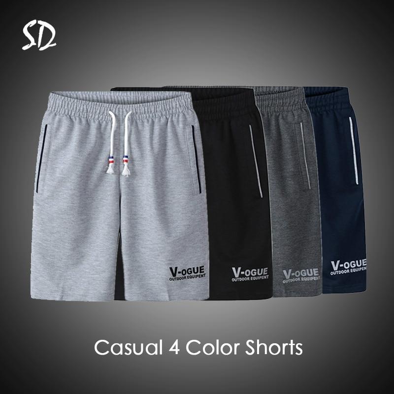 3PC/Lot Summer Beach Short Men Fashion Brand Men Shorts Casual Drawstring Shorts Men's Breathable M-6XL Trousers Short 2019
