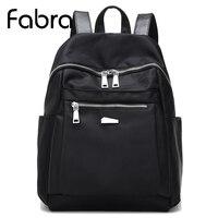 Fabra New Brand Waterproof Nylon Laptop Backpack Men Backpacks For Teenage Girls Travel Backpack Bag Women