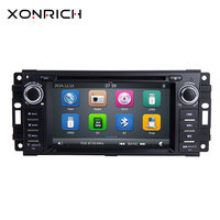 AutoRadio Car DVD Player Multimedia Stereo For Chrysler 300c Jeep Grand Cherokee Compass Dodge RAM Wrangle GPS Head Unit