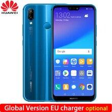 Huawei P20 Lite Nova 3e Küresel Sürüm Isteğe Bağlı 4G 64G Cep Telefonu Octa Çekirdek 5.84