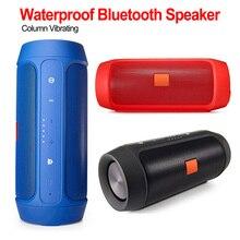 купить Portable Bluetooth Speaker Wireless Bass Column Waterproof Outdoor Speaker Support USB Subwoofer Stereo Loudspeaker дешево