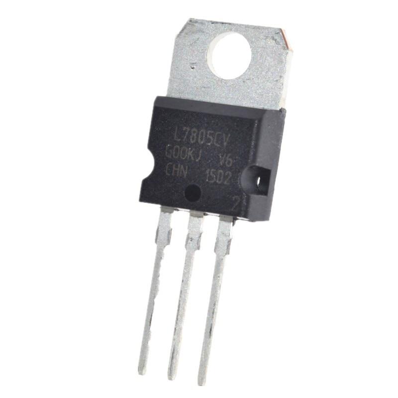 10pcs Lm7805 L7805 7805 Voltage Regulator Ic 5v 1 5a To