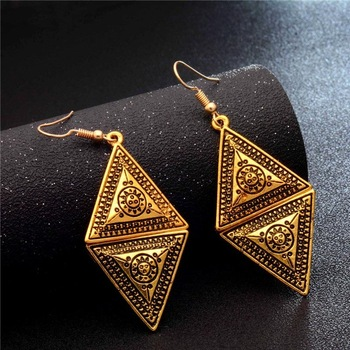 Fashion Metal Dangle Earrings Earrings Jewelry Women Jewelry Metal Color: GA727