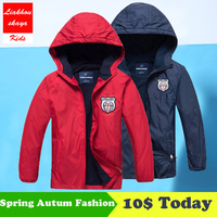 2018 Fashion Brand Children S Boys Girls Fleece Jacket Kids Coat Hoodie Waterproof Windbreakers Boys Jackets