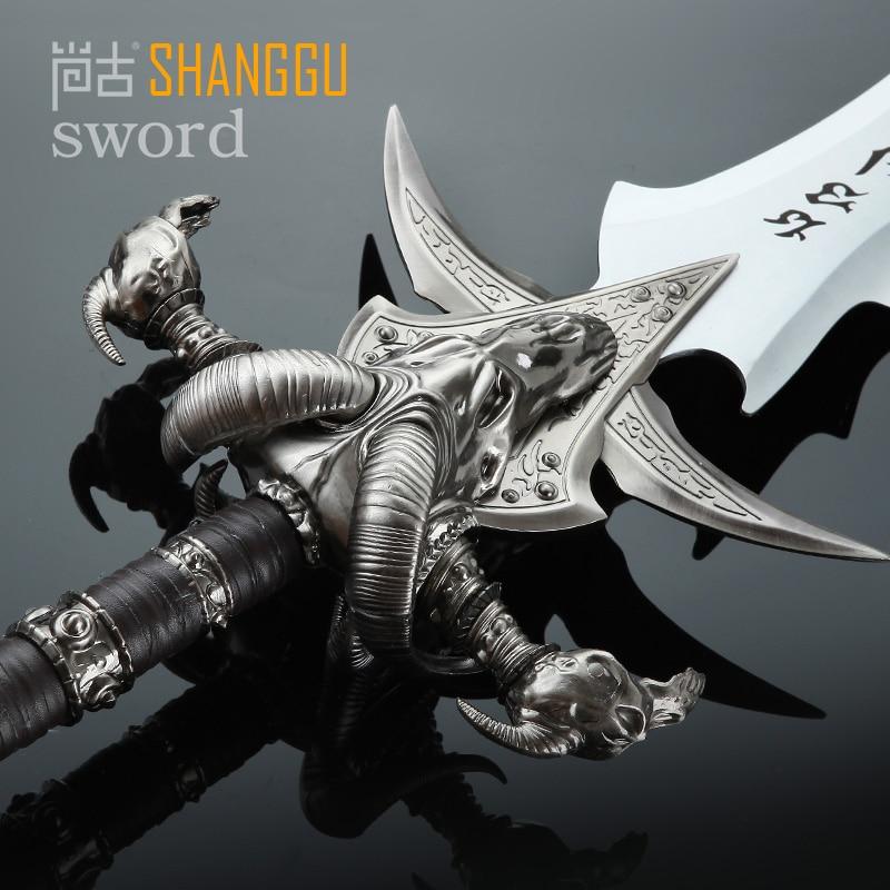 Frostmourne Sword Replica Collection ұзындығы 108CM - Үйдің декоры - фото 3