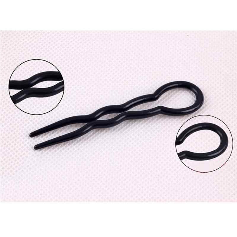 3 Pz/set Dei Capelli di Torsione Styling Clip Stick Creatore Del Panino Braid Strumento di Accessori per Capelli Clip di Capelli di Bobby Spilli Strumenti di Trucco