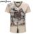 Camisa de marca famosa t 2016 Homens t shirt Da Forma padrão V poleras hombre Aptidão do Verão do pescoço Manga Curta Top Tees mens t-shirts