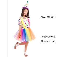 halloween costumes kids hot sale funny clown costume cosplay clothing for boy girl