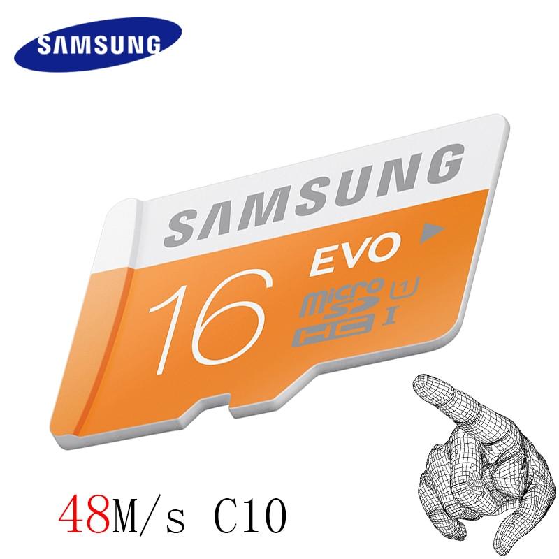 85f05255a Image SAMSUNG 48MB s Microsd Card 32GB 64GB 128GB Class10 U1 U3 Memory Card Micro  SD