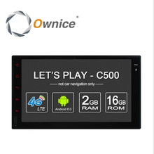 Ownice C500 Android 6.0 2G RAM 1024*600 Support 4G SIM LTE Network radio 2din Universal car dvd player For Nissan GPS Navigation