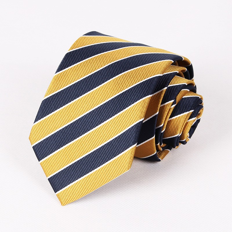 Fashion-Striped-Neck-Ties-for-Men-Popular-Polyester-Wedding-Gold-and-Navy-Blue-Neckties-Brand-Classic
