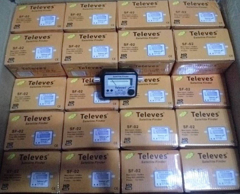 US $5 65 10% OFF Digital Satellite Finder Alignment Signal Satfinder Find  Meter LNB Dish DirecTV Network Satellite Dish-in Satellite TV Receiver from
