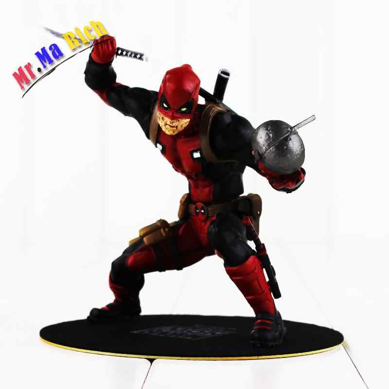 3 aún 13,5 Cm Artfx Deadpool hombres X Figura juguete Deadpool Wade Winston Wilson Con La Spada Arma Modello Fresco Bambola