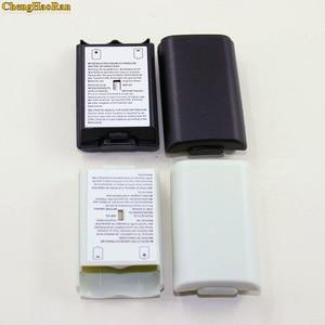 Image 3 - 50 ピース/ロットためXbox360 ゲームコントローラバッテリーパックカバーシェルシールドケースxbox 360 ワイヤレスコントローラーのバッテリーシェル