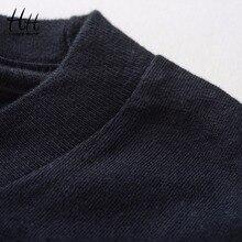 HanHent explore the space T shirts Men astronaut Cotton Tops Tees Loose Short Funny T-shirts Man's Black Casual shirt Boys