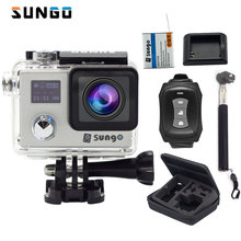 Action camera Original SUNGO remote Ultra FHD 4K 24fps WiFi 1080P 60fps 2.0 LCD 170D sport waterproof camera deportiva