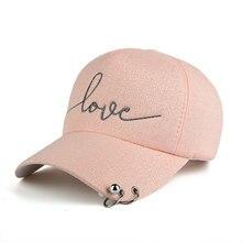 лучшая цена Casual Men Cotton Solid Love Printing Baseball Cap Women Baseball Hat Girl Adjustable Snapback Caps Bone Dad Hats