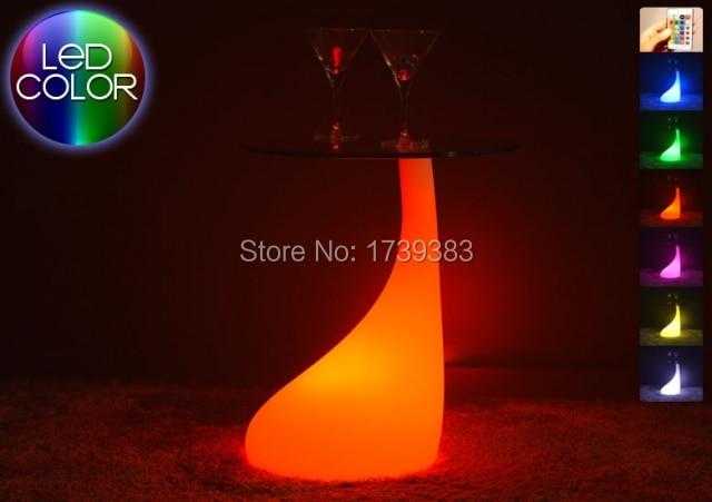 table-lumineuse-orange-melt