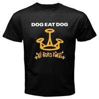 Giá rẻ Tee Áo Sơ Mi Ngắn Crew Neck New DOG ĂN THỊT CHÓ Cứng Punk Rock của ban nhạc Nam Đen T-Shirt Size S M L XL 2XL 3XL Giáng Sinh Mens