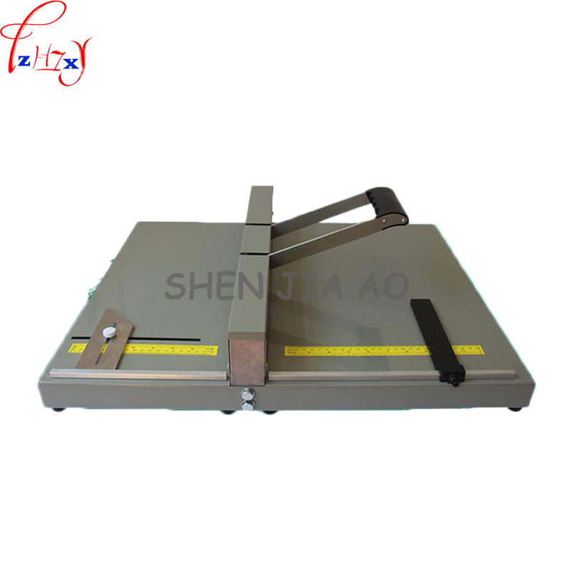 Manual Creasing machine A3 size indentation machine paper folding machine photo greeting paper folding greeting cards YH450  1pcManual Creasing machine A3 size indentation machine paper folding machine photo greeting paper folding greeting cards YH450  1pc