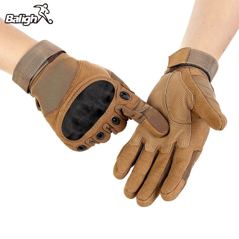 цена на Free Shipping Outdoor Sports Tactical Gloves, Climbing Gloves Men's Full Gloves For Hiking Cycling Training