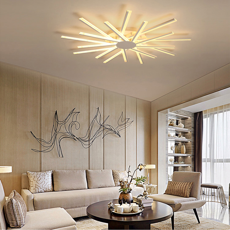 Modern led chandelier lamp Remote Ceiling chandelier lighting fixture for dining living room bedroom kitchen salon home veihao new modern led chandelier for living room bedroom dining room aluminum body indoor home chandelier lamp lighting fixture