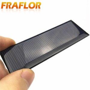Image 2 - Universal 5.5V Standard Epoxy Solar Panels Mini Solar Cells Polycrystalline Silicon DIY Battery Power Charger Module 90x30mm