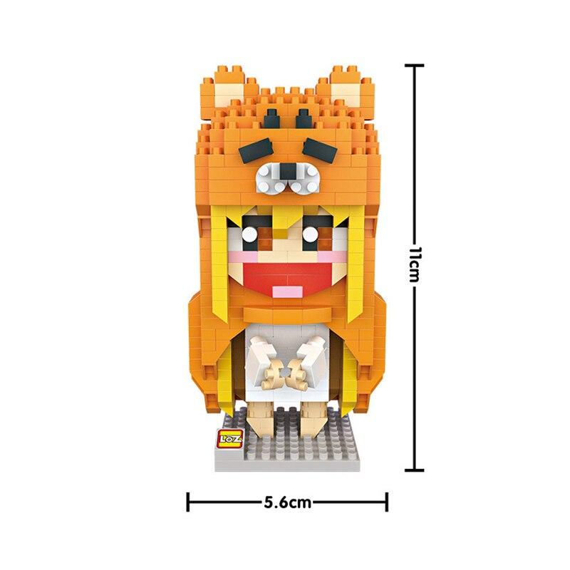 LOZ 9751 himuto! Umaru chan Otaku Umaru dibujo animado chica 3D ...