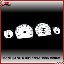 Traço liberação estoque el glow gauge para sentra tsuru b13 1.6l 1992 1995 fulgor luz verde 220 km 8000 rpm