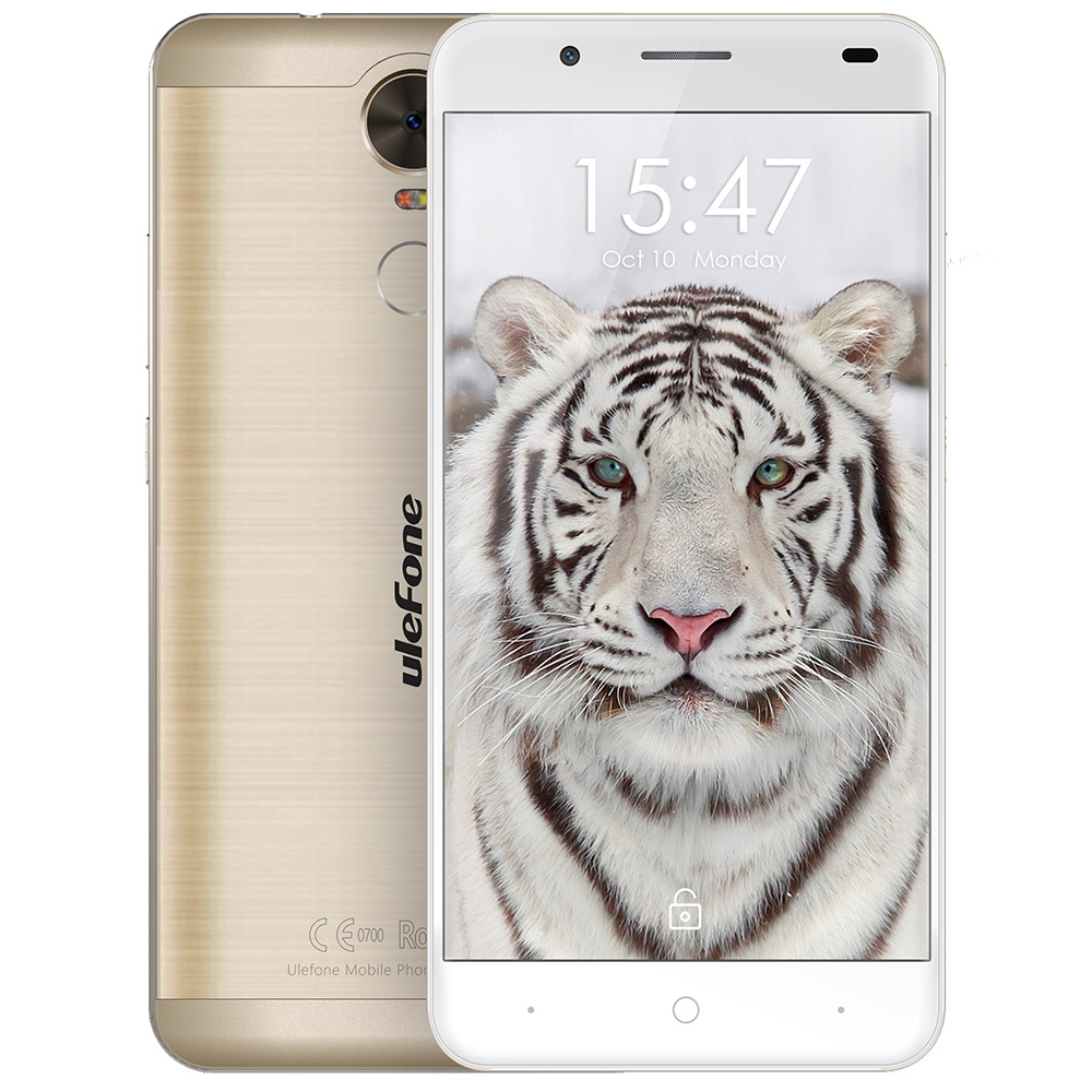Original Ulefone Tiger Lite 3G Smartphone Phablet 5 5 inch Android 6 0 MTK6580 Quad Core