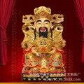 Resin crafts processing Fortuna Buddha ornaments wholesale King sitting shakin Treasurer extra cash